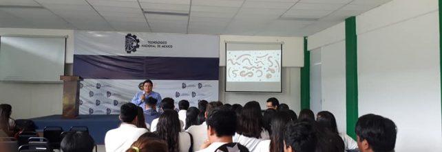TecNM Campus Frontera Comalapa recibe a estudiantes del CETIS 136 de Frontera Comalapa para realizar actividades académicas.