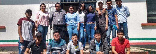 Estudiantes de 3er. Semestre de Ingeniería en Innovación Agrícola Sustentable realizan visita al INIFAP campus experimental Rosario Izapa