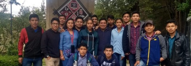 """Estudiantes realizan visita al Centro de Desarrollo Comunitario """"La Abarrada"""" en la ciudad de San Cristóbal de las Casas, Chiapas."""