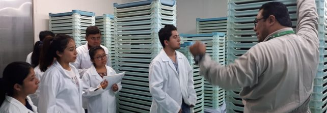 Estudiantes de 5º. Semestre de IIAS realizan visita a las instalaciones del programa Moscafrut en Metapa de Domínguez, Chiapas