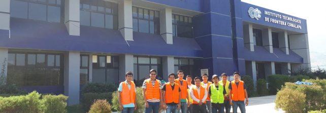 Comunidad tecnológica del TecNM Campus Frontera Comalapa participa en simulacro de evacuación