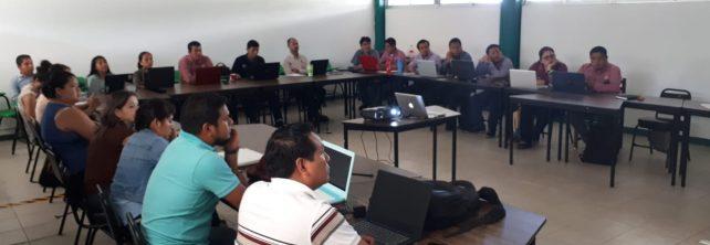 """Personal docente participa en el taller """"El trabajo en academias: prácticas que aseguran el perfil de egreso del estudiante"""""""