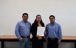 La Mtra. Rosario de Jesús Aguilar Domínguez recibe nombramiento como Subdirectora de Servicios Administrativos del TecNM campus Frontera Comalapa