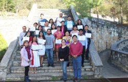 """Jóvenes estudiantes del ITFC presentan proyecto en el marco del """"1er. Encuentro de jóvenes líderes comunitarios"""" en la cd. de San Cristóbal de las Casas, Chiapas"""