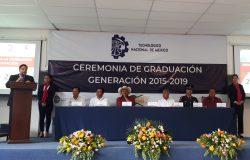 TecNM Campus Frontera Comalapa celebra Ceremonia de Graduación de la Generación 2015-2019