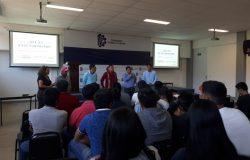 Extensionistas de la Secretaría de Agricultura y Desarrollo Rural brindan platicas de «Extensionismo y Desarrollo Comunitario» a estudiantes del plantel.