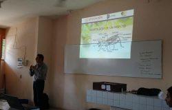 Personal docente del TecNM campus Frontera Comalapa realiza plática de «Entomología» en la Preparatoria Comalapa Turno Matutino