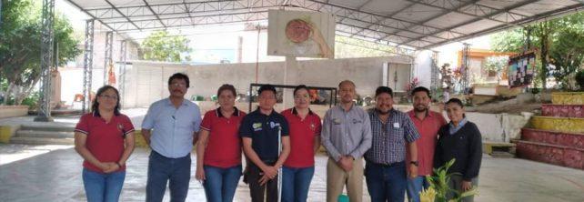 Docente del TecNM campus Frontera Comalapa imparte conferencia «Sueño, posible realidad» a estudiantes de la Escuela Preparatoria Comalapa