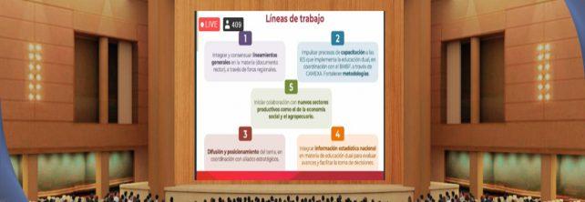 """TECNM CAMPUS FRONTERA COMALAPA PARTICIPA EN LOS FOROS DE VINCULACION """"EDUCACIÓN DUAL Y EMPRENDIMIENTO ASOCIATIVO"""""""