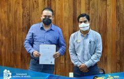 El Ing. José Aurelio Olivares Estrada recibe nombramiento como subdirector de planeación y vinculación del TECNM campus Frontera Comalapa
