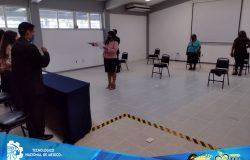 TecNM campus Frontera Comalapa realizó Acto Protocolario de Titulación Integral a estudiantes egresados de las carreras de: Ingeniería en Sistemas Computacionales, Ingeniería en Gestión Empresarial e Ingeniería en Innovación Agrícola Sustentable.