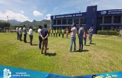 TecNM campus Frontera Comalapa presente en el primer simulacro nacional 2021.