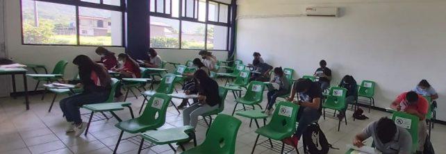 TecNM campus Frontera Comalapa realiza evaluación de nuevo ingreso a la educación superior