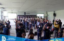 Asisten estudiantes de nuevo ingreso de la modalidad escolarizada, al Curso de Inducción al Instituto Tecnológico de Frontera Comalapa.